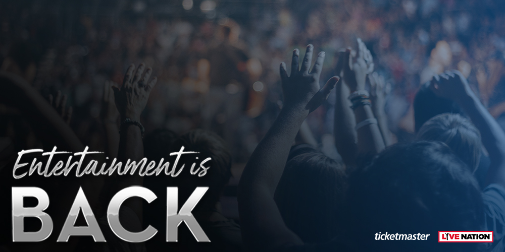 Entertainment is back! – Ticketmaster und Live Nation starten gemeinsame Kampagne